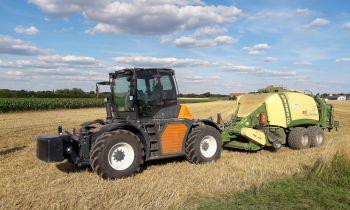 Landwirtschaft, Agrar, Traktor, Bulldog, Maschine, Ballenpresse