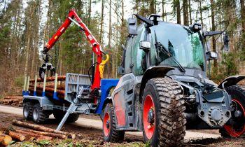 Forstwirtschaft, Rückewagen, Binderberger, SYN TRAC, Traktor, Fendt