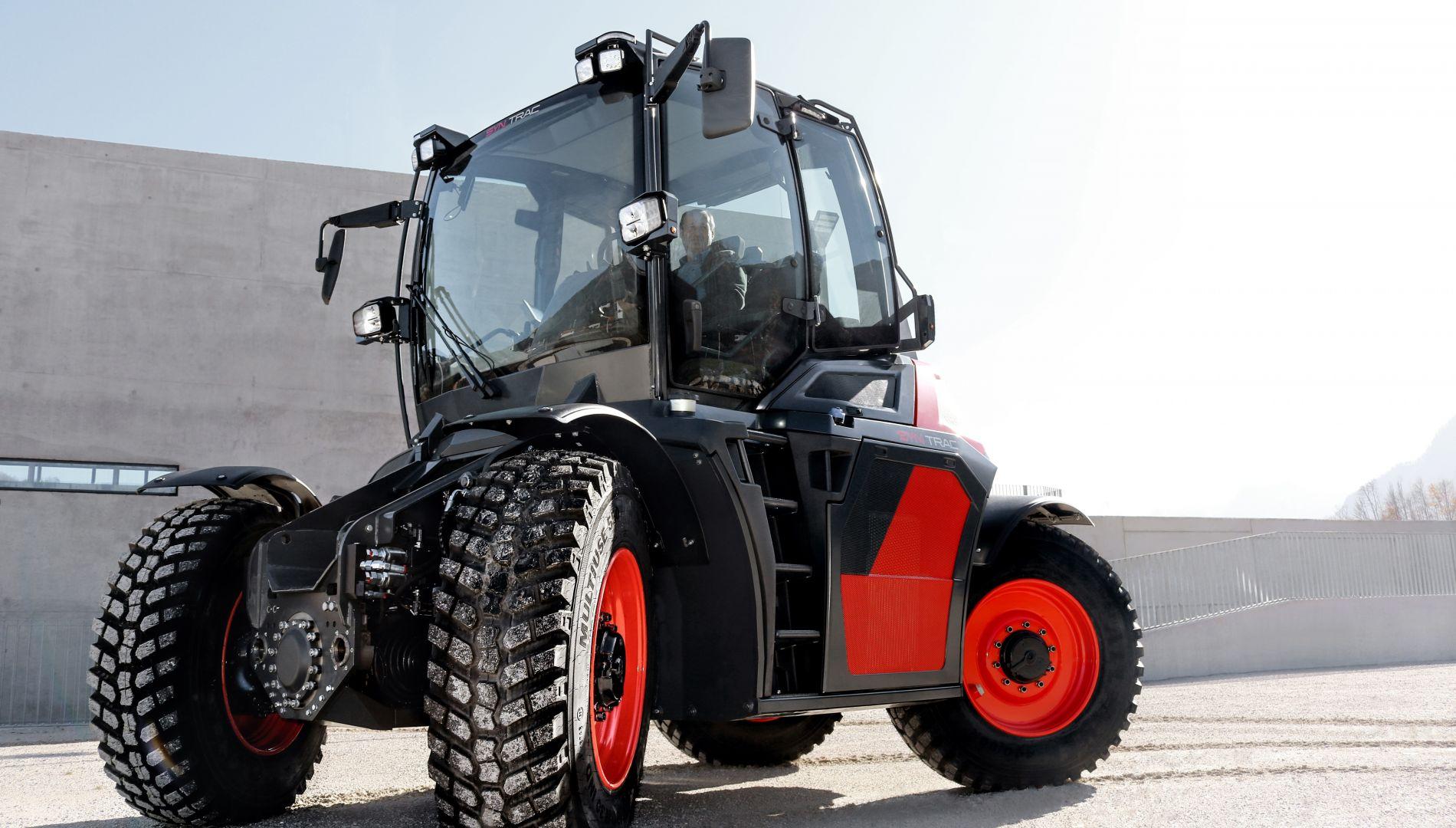 SYN TRAC, Fahrzeug, Innovation, syntrac, syn trac, Traktor