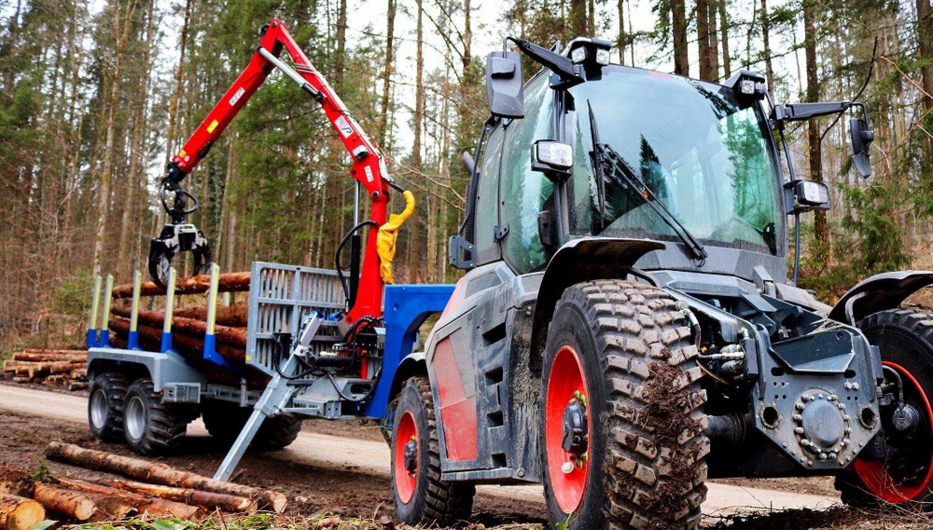 Rückewagen, Forstwirtschaft, SYN TRAC, Traktor, Waldarbeiten, Binderberger